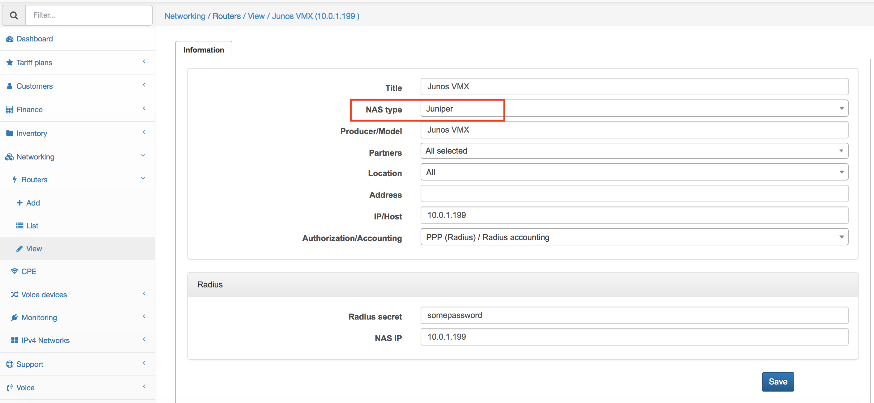 Admin login to Juniper (JUNOS)